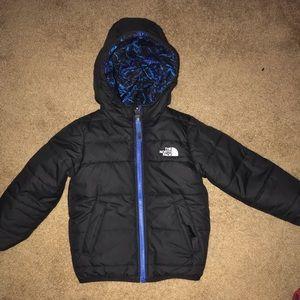 3T The NorthFace reversible winter coat